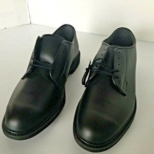 NEW Bates Mens 14 D Black Lace Up Military Oxford